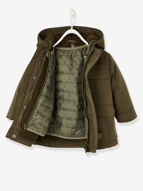 Vertbaudet Sale-Baby-Outerwear-3-in-1 Progressive Parka for Baby Boys
