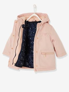 Vertbaudet Sale-Baby-Outerwear-3-in-1 Parka with Removable Jacket, for Baby Girls