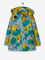 Hooded Raincoat with Fleece Lining for Girls  - vertbaudet enfant