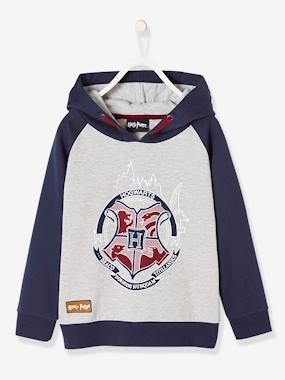 Vertbaudet Collection-Boys-Harry Potter® Hooded Sweatshirt for Boys