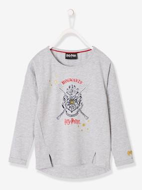 Vertbaudet Sale-Girls-Long-Sleeved Harry Potter® Top for Girls