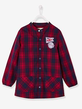 Boys-Apron -Chequered Smock for Boys