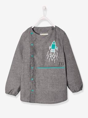 Boys-Apron -Smock in Chambray for Boys