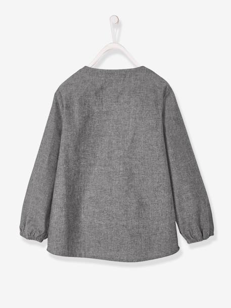 Smock in Chambray for Boys GREY MEDIUM WASCHED - vertbaudet enfant