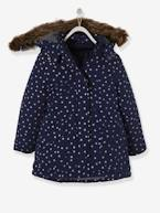 4-in-1 Parka with Fleece Lining for Girls  - vertbaudet enfant