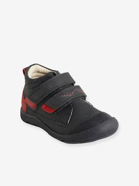 Vertbaudet Sale-Shoes-Boys Footwear-Boys' Leather Boots, Designed for Autonomy