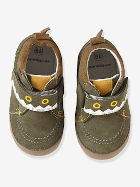 Shoes-Baby Footwear-Slippers & Booties-Fancy Soft Leather Shoes for Babies