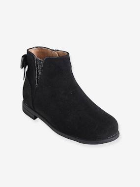 Megashop-Shoes-Girls Footwear-Girls' Leather Boots