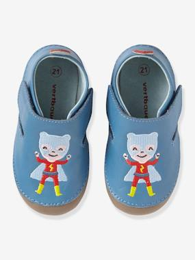 Shoes-Baby Footwear-Soft Leather Shoes with Touch 'n' Close Fastenings for Babies