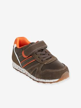 Shoes-Boys Footwear-Trainers-Trainers with Touch 'n' Close Fastening & Elasticated Laces for Boys