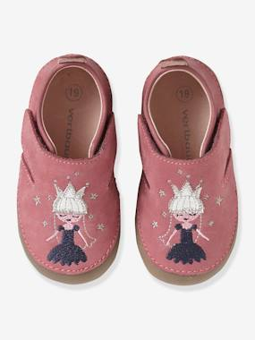 Shoes-Baby Footwear-Slippers-Soft Leather Shoes with Touch 'n' Close Fastening for Babies