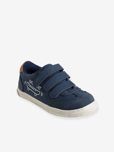 Unisex Touch 'N' Close Trainers BLUE MEDIUM SOLID+GREEN MEDIUM SOLID+RED DARK SOLID+WHITE LIGHT SOLID - vertbaudet enfant