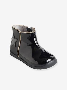 Vertbaudet Collection-Shoes-Boots with Zip for Girls