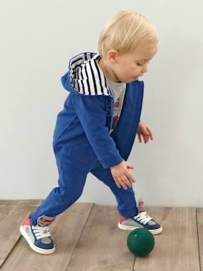 Baby-Outfits-Sports Zipped Jacket & Trouser Set