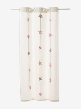 Decoration-Iridescent Star Curtain