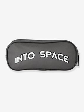 Vertbaudet Sale-Boys-Accessories-Double-Compartment Pencil Case for Boys, Into Space