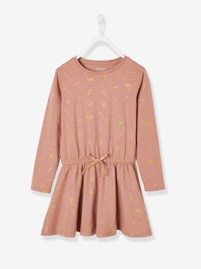 Vertbaudet Collection-Girls-Printed Dress for Girls