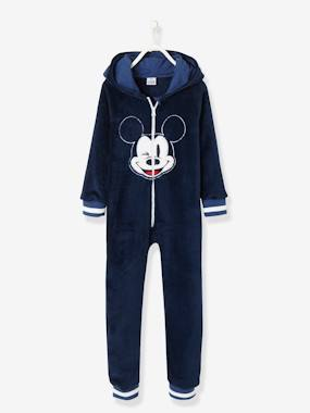 Vertbaudet Sale-Mickey® Fleece Jumpsuit, with Zip
