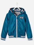 Hooded Jacket with Lining for Boys  - vertbaudet enfant