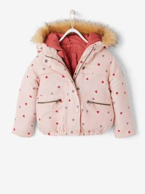 Outlet-Girls-3-in-1 Parka with Fleece Lining, for Girls