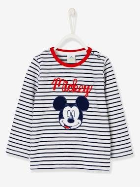 Tous mes heros-T-shirt marinière Mickey® manches longues