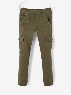 Vertbaudet Sale-Boys-Trousers-Cargo Trousers for Boys