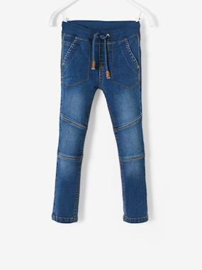 Boys-Jeans-WIDE Hip, Slim Leg Jeans for Boys