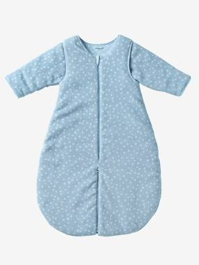 Bedding & Decor-Baby Bedding-Microfibre Sleep Bag With Detachable Sleeves, For Strolling