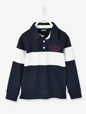 Boys-Tops-Long-Sleeved Polo Shirt for Boys