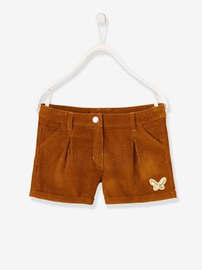 Girls-Shorts-Corduroy Shorts for Girls