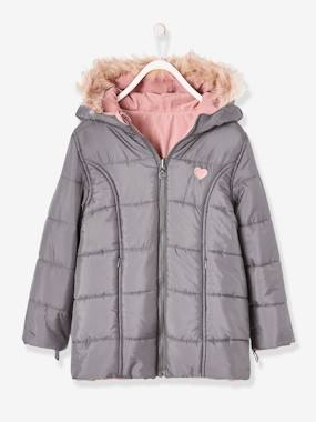 Outlet-Parka réversible fille