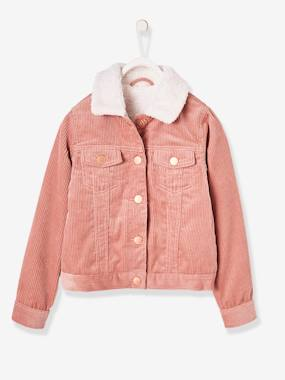 Schoolwear-Corduroy Jacket with Lining for Girls