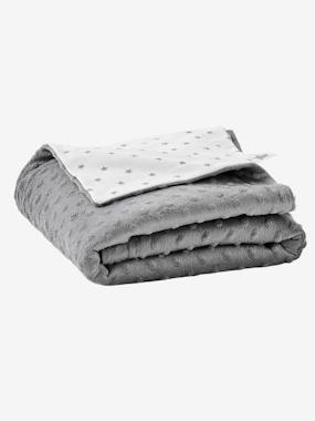 Vertbaudet Sale-Bedding-Stella Double-Sided Blanket in Fleece/Polar Fleece for Babies