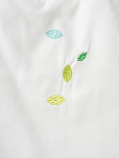 Sleeveless Sleep Bag, Northern Dream Theme White/green - vertbaudet enfant