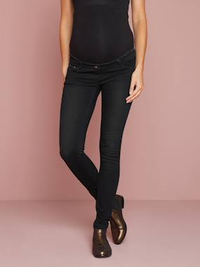 Vertbaudet Collection-Maternity-Maternity Slim Strech Jeans - Inside Leg 33""