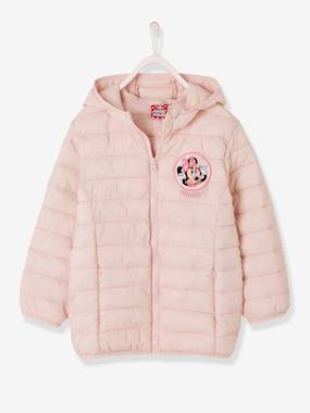 Outlet-Girls-Light Padded Minnie® Jacket, with Hood