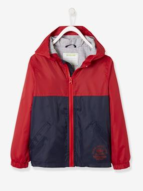 Vertbaudet Sale-Boys-Hooded Windcheater Parka, for Boys
