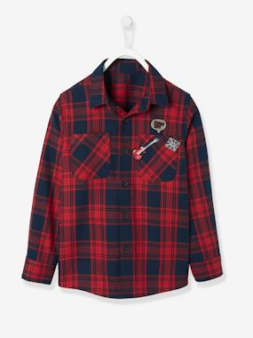 Boys-Shirts-Flannel Shirt for Boys