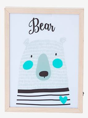 Christmas deco-Bear Light Box