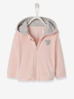Happy week-Jacket in Soft Velour for Babies