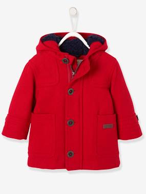 Winter collection-Baby-Baby Boys' Padded Duffle Coat with Warm Lining