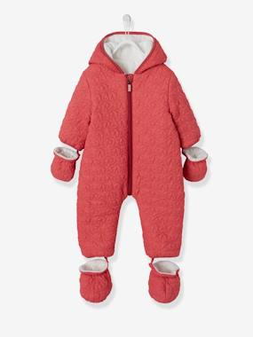 Outlet-Baby Star-Padded Jumpsuit