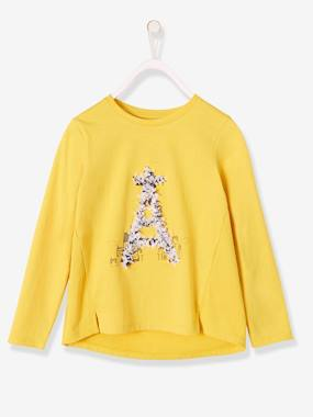 Girls-Long-Sleeved Top with the Eiffel Tower, for Girls
