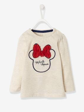 Minnie et Mickey-T-shirt fille Minnie® fantaisie