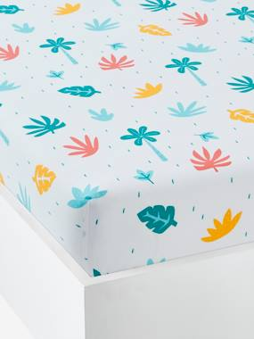 Bedding-Children's Fitted Sheet, Crocodiles Theme