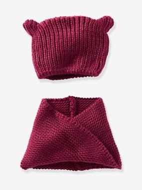 Girls-Accessories-Girls' Stylish Beanie & Snood