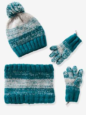Vertbaudet Sale-Boys-Accessories-Boys' Beanie, Snood & Gloves/Mittens