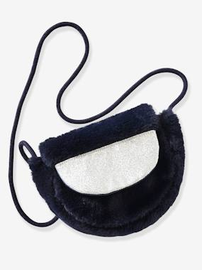 Girls-Accessories-Bags-Small Faux Fur Handbag for Girls