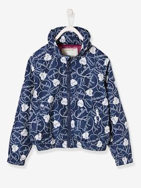 Outlet-Jacket with Concealed Hood for Girls