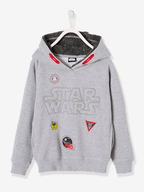 Licence-Garçon-Sweat à capuche Star Wars® en molleton